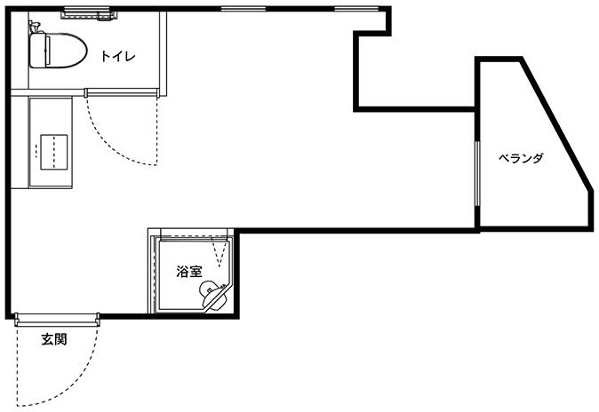Aタイプ(4部屋)
