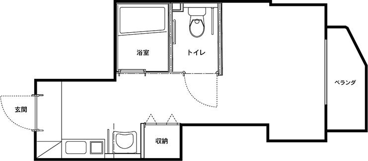 Cタイプ(6部屋)